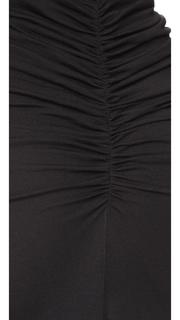 Rick Owens Lilies Gathered Maxi Skirt