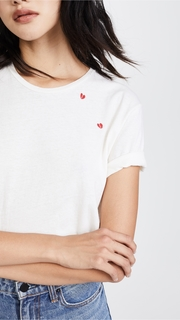 Sincerely Jules Heartbreaker Embroidered Tee