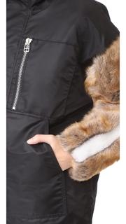 Sandy Liang Gilmore Shearling Coat