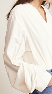 Solace London Odeta Shirt Bodysuit