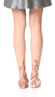 Sigerson Morrison Charlotte II Velvet Ballet Flats