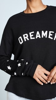 Spiritual Gangster Dreamer Cropped Sweatshirt