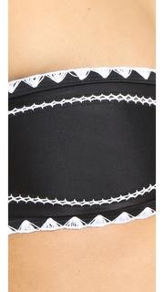 SAME SWIM Babe Bandeau Bikini Top