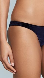 Suboo Indigo Velvet Slim Bikini Bottoms