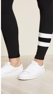 SUNDRY Yoga Pants with Stripes