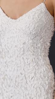 Theia Sleeveless Petal Gown