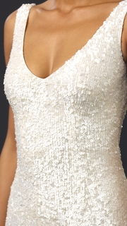 Theia Harlow Sequin Gown
