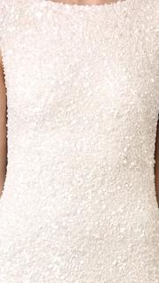 Theia Hayden Cap Sleeve Cowl Back Gown