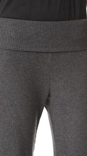 Three Dots Wide Leg Rib Pants