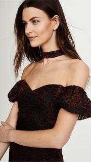 WAYF Judi Mock Neck Mini Dress