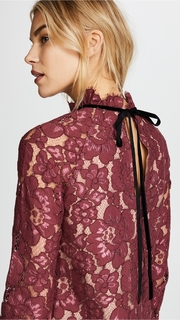 WAYF Sukie Raglan Lace Top
