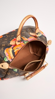 What Goes Around Comes Around LV Roses Speedy 30 Bag (Previously Owned )