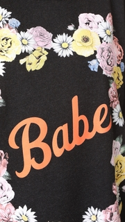Wildfox Babe Roadtrip Sweatshirt