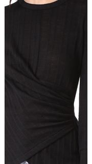 Yigal Azrouel Cold Shoulder Top