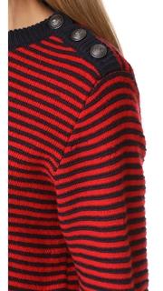 Zadig & Voltaire Jade Striped Sweater