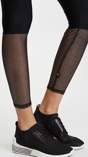 Terez Glitter Mesh Leggings