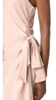 Zimmermann Bow Mini Dress