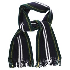 Шарф Fred Perry Tartan Striped Scarf Blue/Green/White