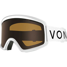 Маска для сноуборда Von Zipper Beefy White Gloss/Bronze