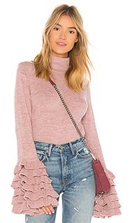 Пуловер с воланами tania - AYNI
