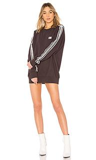 Платье-толстовка stripe - Baja East