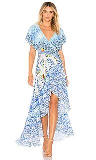 Платье с запахом - Camilla