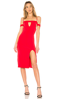 Платье с открытыми плечами nikkita - h:ours