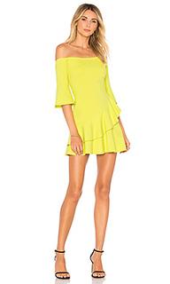 Платье с открытыми плечами riley - Lovers + Friends