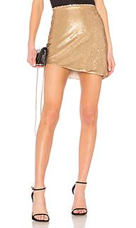 Мини юбка с блестками angel - NBD