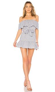 Платье с открытыми плечами sallie - Tularosa