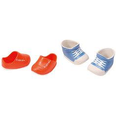 Ботиночки, 2 пары (для куклы), BABY born, синие-оранжевые Zapf Creation