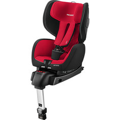 Автокресло RECARO OptiaFix, 9-18 кг, Racing Red