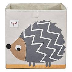 Коробка для хранения Ёжик (Grey HedgeHog SPR410), 3 Sprouts