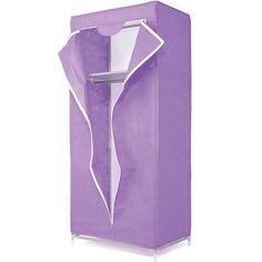 Тканевый шкаф Кармэн, Homsu, фиолетовый