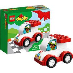 Конструктор LEGO DUPLO 10860: Мой первый гоночный автомобиль