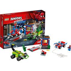 Конструктор LEGO Juniors 10754: Решающий бой Человека-паука против Скорпиона