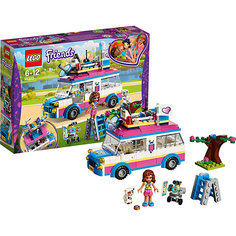 Конструктор LEGO Friends 41333: Передвижная научная лаборатория Оливии