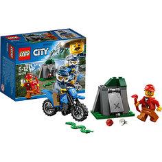 Конструктор LEGO City 60170: Погоня на внедорожниках