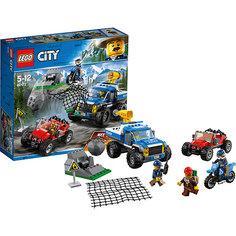 Конструктор LEGO City 60172: Погоня по грунтовой дороге