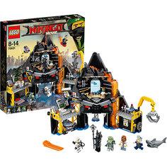 Конструктор LEGO Ninjago 70631: Логово Гармадона в жерле вулкана