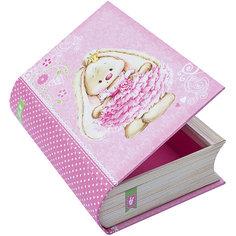 "Коробка ""Книжка ЗайкаМи"" 16,5*12,2*4,5 см Белоснежка"
