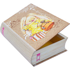 "Коробка ""Книжка ЗайкаМи"" 21,5*15,7*5,8 см Белоснежка"