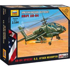 Сборная модель  Американский вертолёт Апач Звезда