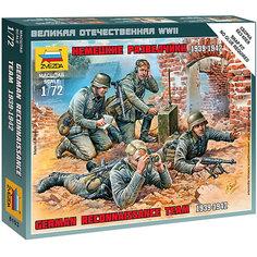 Сборная модель  Немецкие разведчики 1939-42гг Звезда