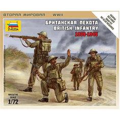 Сборная модель  Британская пехота Звезда