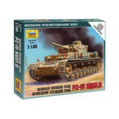 Сборная модель  Немецкий танк Т-IV Звезда