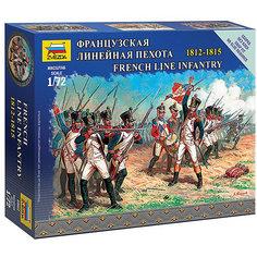 Сборная модель  Французская линейная пехота Звезда