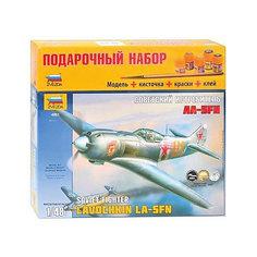 """Сборная модель  Самолет """"Ла-5ФН"""" Звезда"""