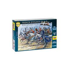 Сборная модель  Французские рыцари XVв Звезда