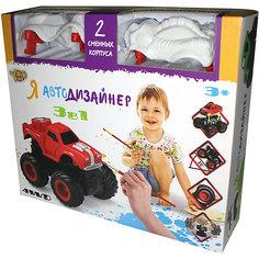 Я Автодизайнер,  Игровой набор 3 в 1, Yako